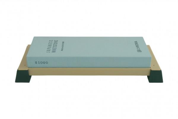 ST1000 CHROMA Schleifstein 1000er Körnung, mit Halter