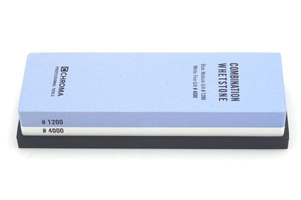 CHROMA Kombi-Schleifstein 1200/4000er Körnung - Produktansicht